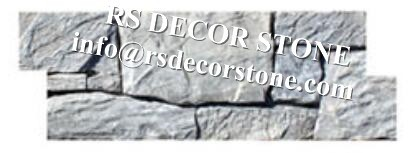 White Limestone Cement Stone Panel(cement backing)