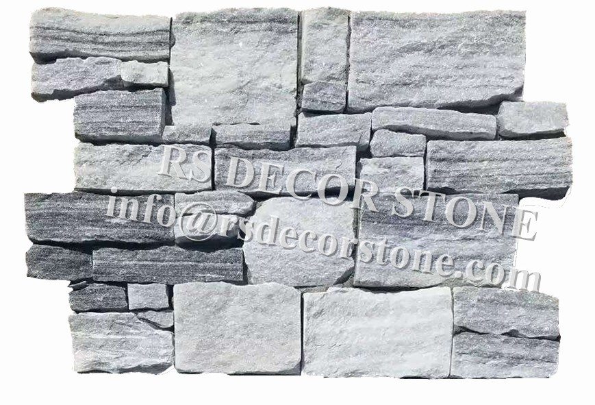 Incanus Marble Stacked Stone(With Cement And Mesh)
