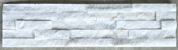 Cloud White Marble Flat Stone Panel