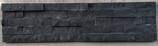 Deep Black Limestone Natural Stone Panel