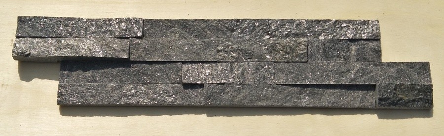 Metal Grey Quartzite Panel