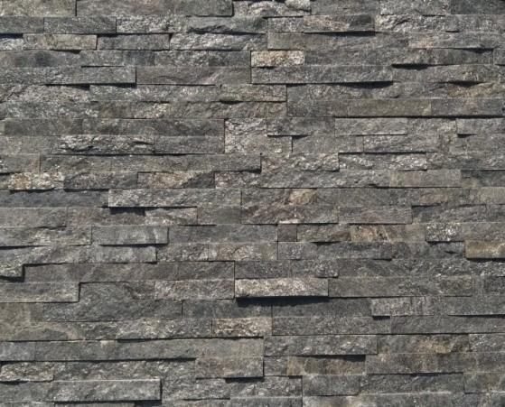 Metal Grey Quartzite Panel