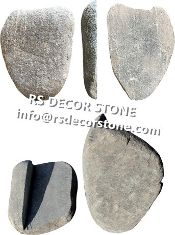 Deep Grey Cobble Mosaic Thin Stone Veneer