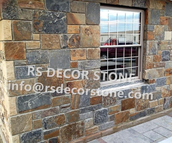 Rusty Slate Castle Stone