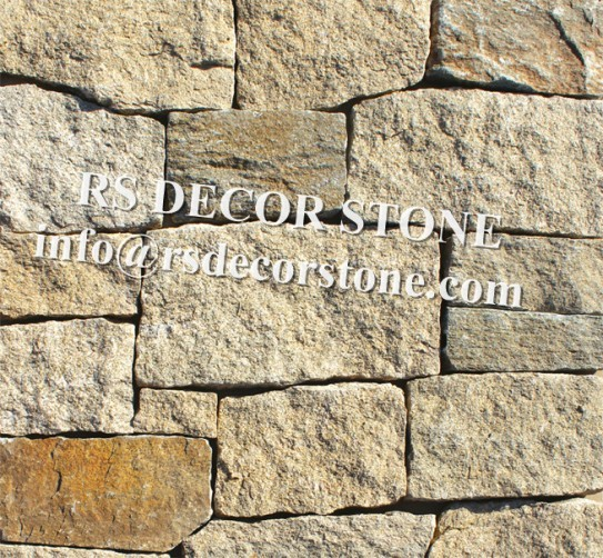 Yellow Gneiss Ledgestone