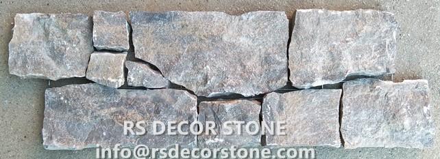 Mars Grey Limestone Ledgestone(Metal Mesh Backing)