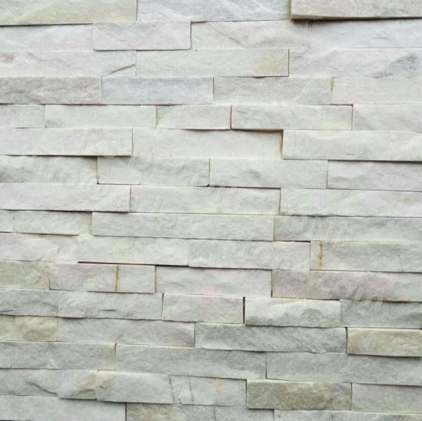 Light White Quartzite Panel