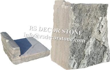 Grey Stripe Mica Castle Stone Veneer