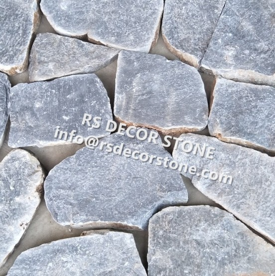 Light Grey Limestone Mosaic Thin Stone Veneer